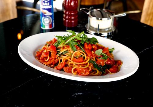 Spaghetti Rucola Pomodorini