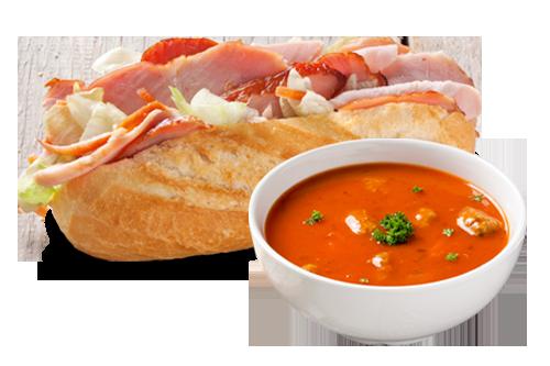 Combi Broodje met Kleintje Soep