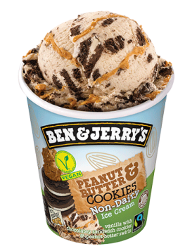 Ben & Jerry's  Peanut Butter & Cookies Non-Dairy 465 ml