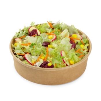 Gemischter Salat ohne Dressing