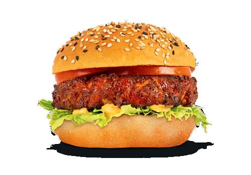 Cajun Veggie Burger