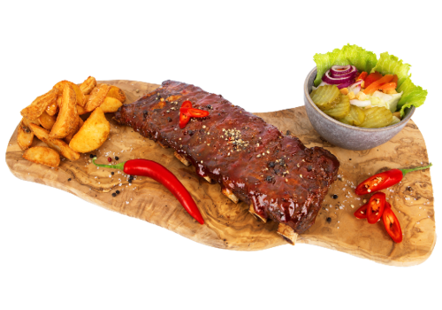 Sparerib Las Vegas Hot 'n Spicy Menu