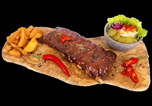 Sparerib Texas BBQ Menu