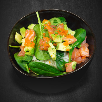 122 Lachs Tatar Deluxe Bowl