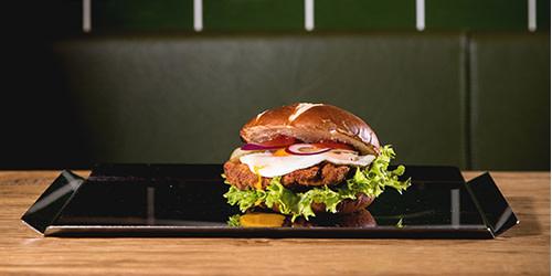 Hamburger Schnitzel Burger