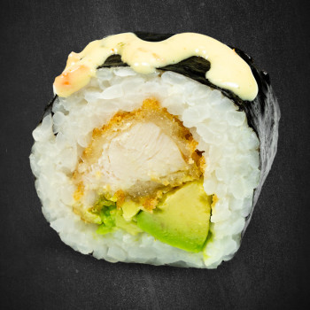81 Tempura Chicken Big Roll