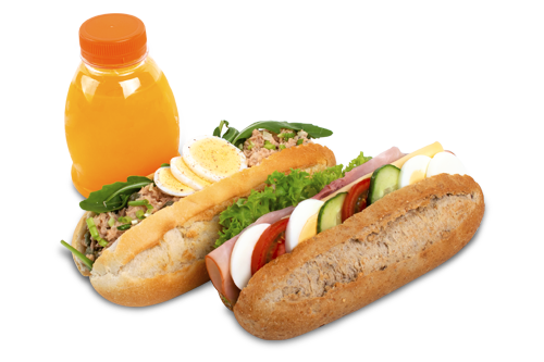 Lunchpakket  (minimaal 5 stuks)