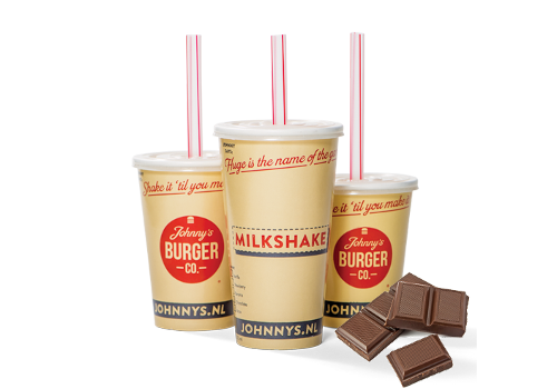 Milkshake Chocolade Groot