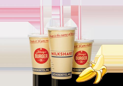 Milkshake Banaan Middel