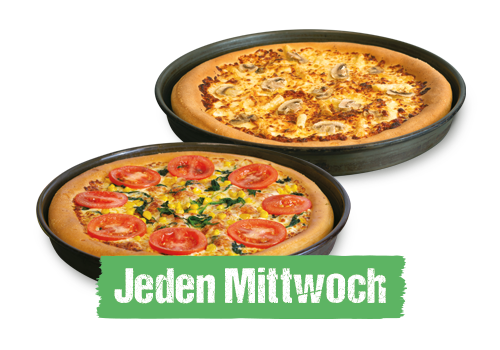 1 Pizza Gratis Pan normal 10,90
