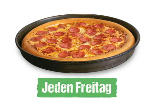 Family Day 2 Pan Pizza groß für 17€