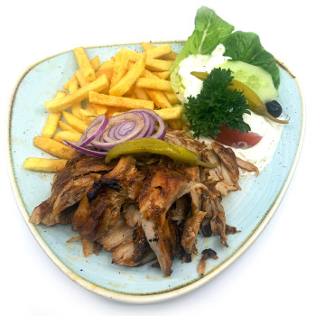 Kleine Portion Chicken Gyros