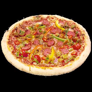Pizza Salsiccia piccante