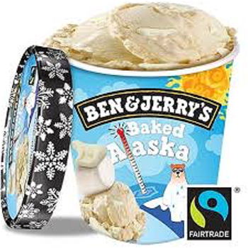 Ben & Jerry Baked Alaska 465ml