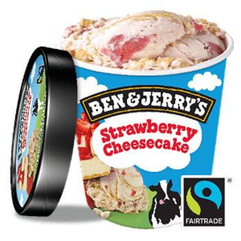 Ben & Jerry's Strawberry Cheesecake 465ml