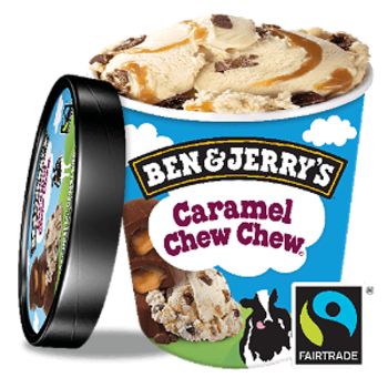 Ben & Jerry's Caramel Chew Chew 465ml