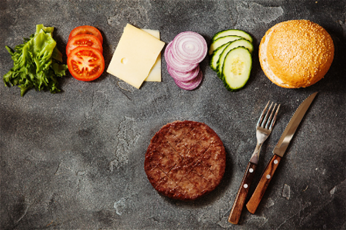 Craft your own burger