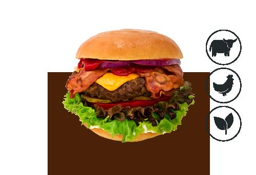 Bacon-Cheese Burger