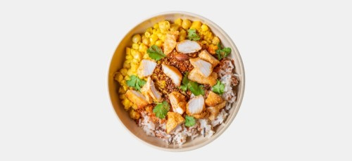 Chicken Coconut Curry Bowl