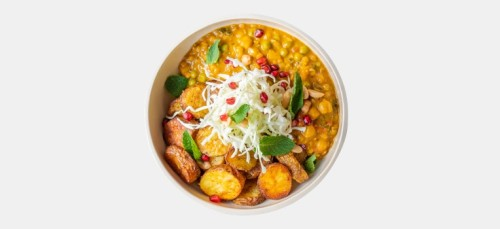 Indian Lentil Bowl