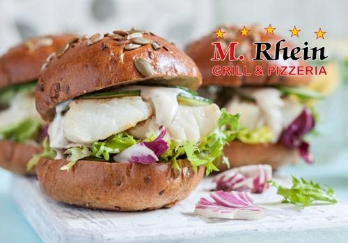 Fisch Burger Deluxe  XL