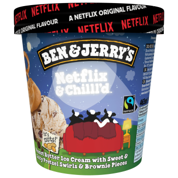 Ben & Jerry´s Netflix & Chilll'd 465 ml
