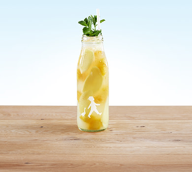 Limo Mango-Ingwer 0,5l