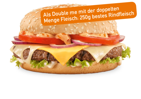 Absolute Cheese Burger Double me
