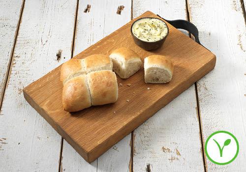 Breekbrood met kruidenboter