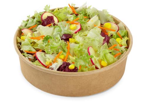 Gemischter Salat mit Radieschen