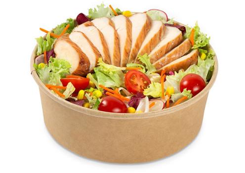 Salat mit Pouletbrust