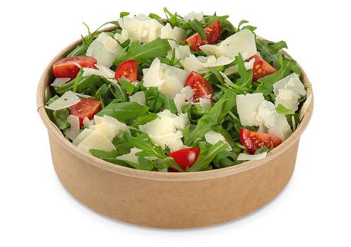 Rucola mit Grana Padano Italian