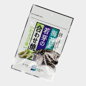 Snack Nori mit Wasabi