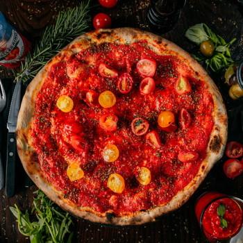Pizza Rossa Marinara Delux
