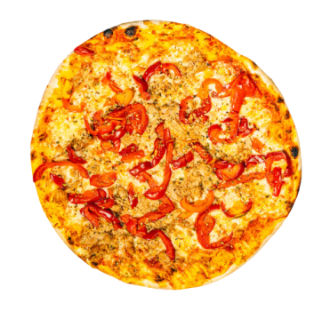 Pizza Tonno e Paprika 24cm