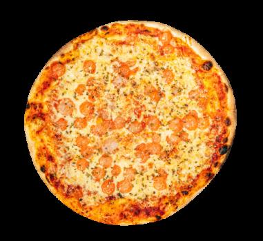 Pizza Scampi 24cm