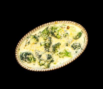 Broccoli-Spinat-Auflauf