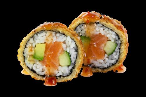 Yoko Roll  Lachs  mit Sweet Chili Sauce - 4 Stück