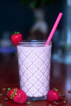 Strawberry Kiss  Smoothie