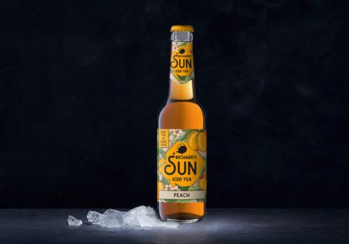 Richard Sun Iced Tea Peach 0,33l