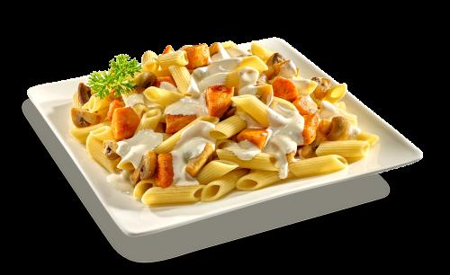 Pasta Funghi & Pollo