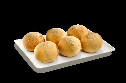 6 Pizzaballs ungefüllt
