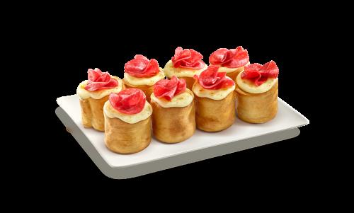 8 Pizzaballs Salami