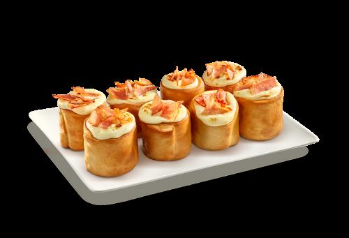 8 Pizzaballs Schinken