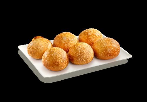Sweet Pizzaballs mit Schoko-Dip