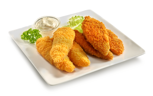 12 Chicken-Strips scharf