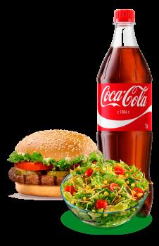 Burger Plus Menü 3