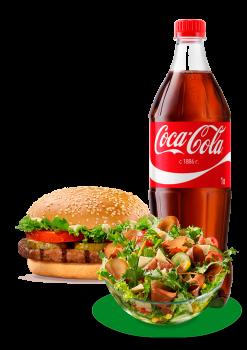 Burger Plus Menü 4