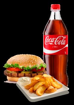 Burger Plus Menü 5