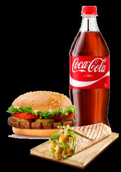 Burger Plus Menü 6